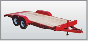 Frame Medium Series Flat-bed Trailer