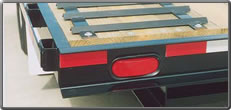 Flatbed Trailer with Recessed Tail Lights